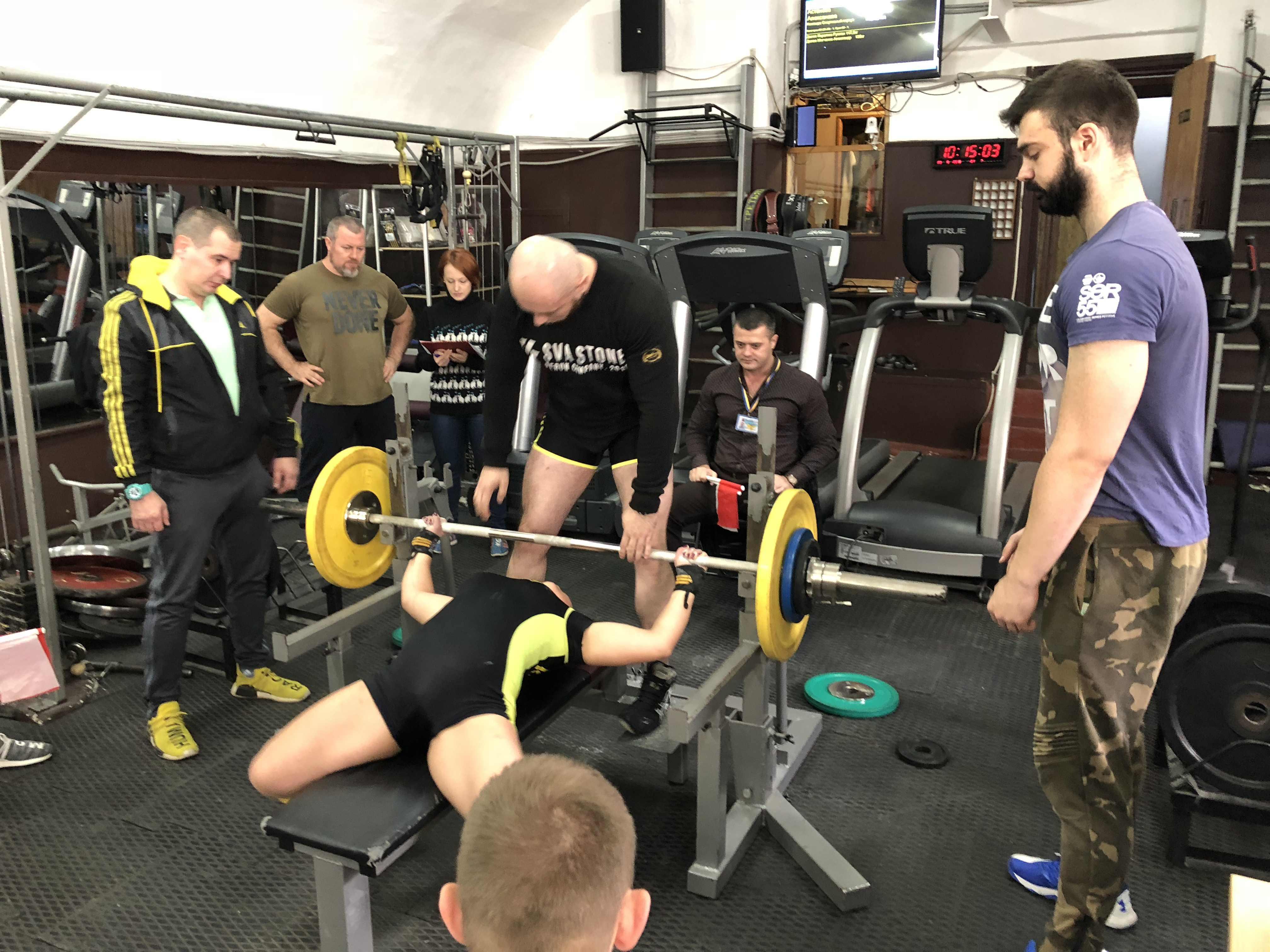 Одесской области по жиму лежа Powergym спортзал одесса 30 сентября 49