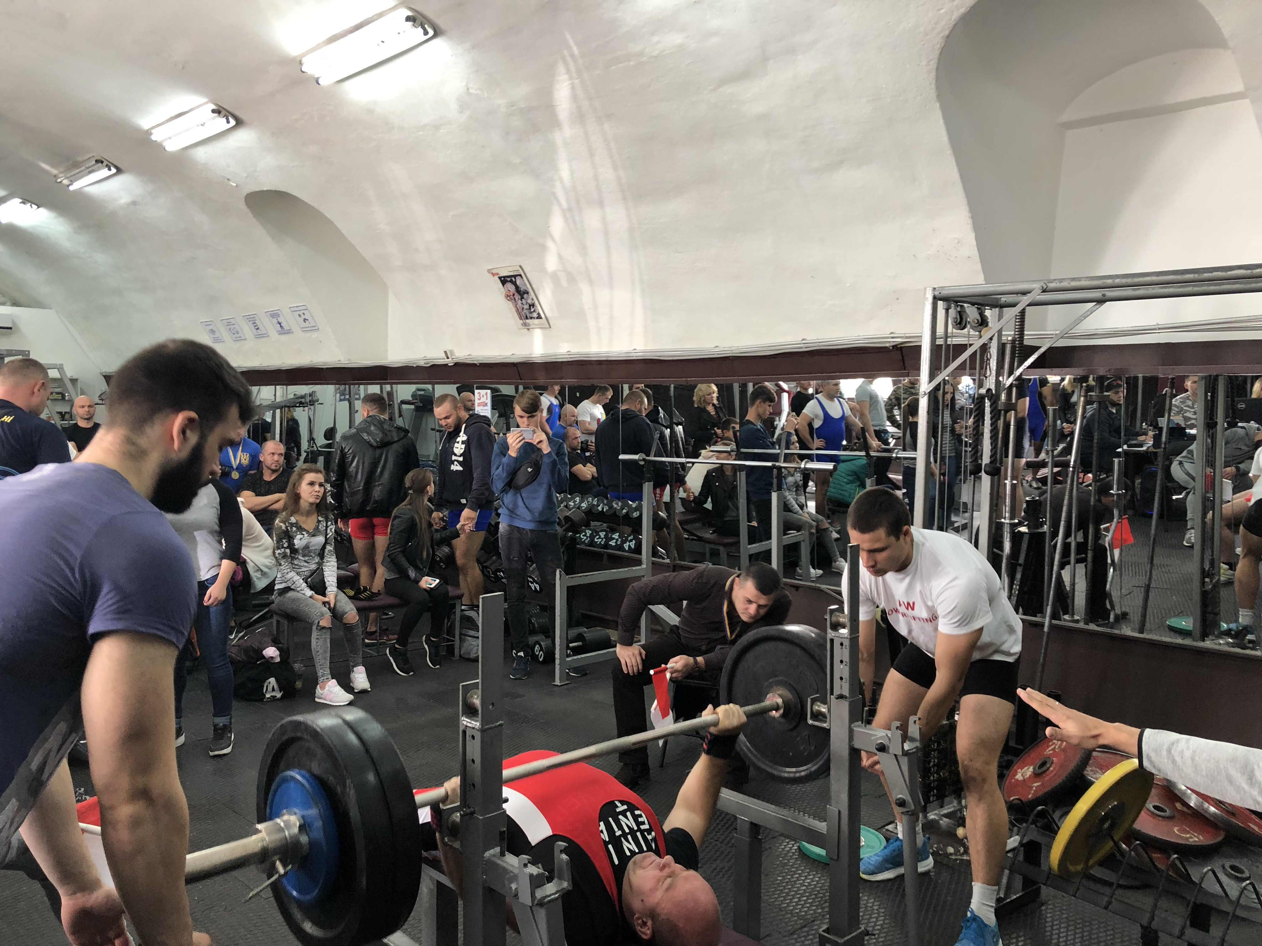 Одесской области по жиму лежа Powergym спортзал одесса 30 сентября 57
