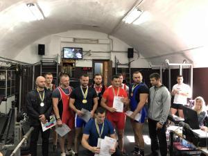 Чемпионат Одесской области по подъему на бицепс Powergym спортзал одесса 30 сентября