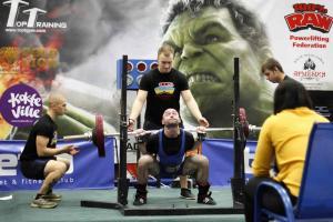 Чемпионат Украины по пауэрлифтингу и жиму лежа  12 2018